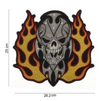 Patch Skull/Flames